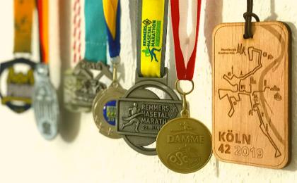 Laufen Medaillen