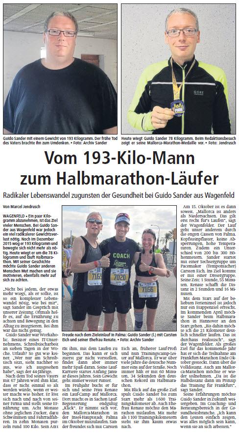 Kreiszeitung vom 11.11.2017