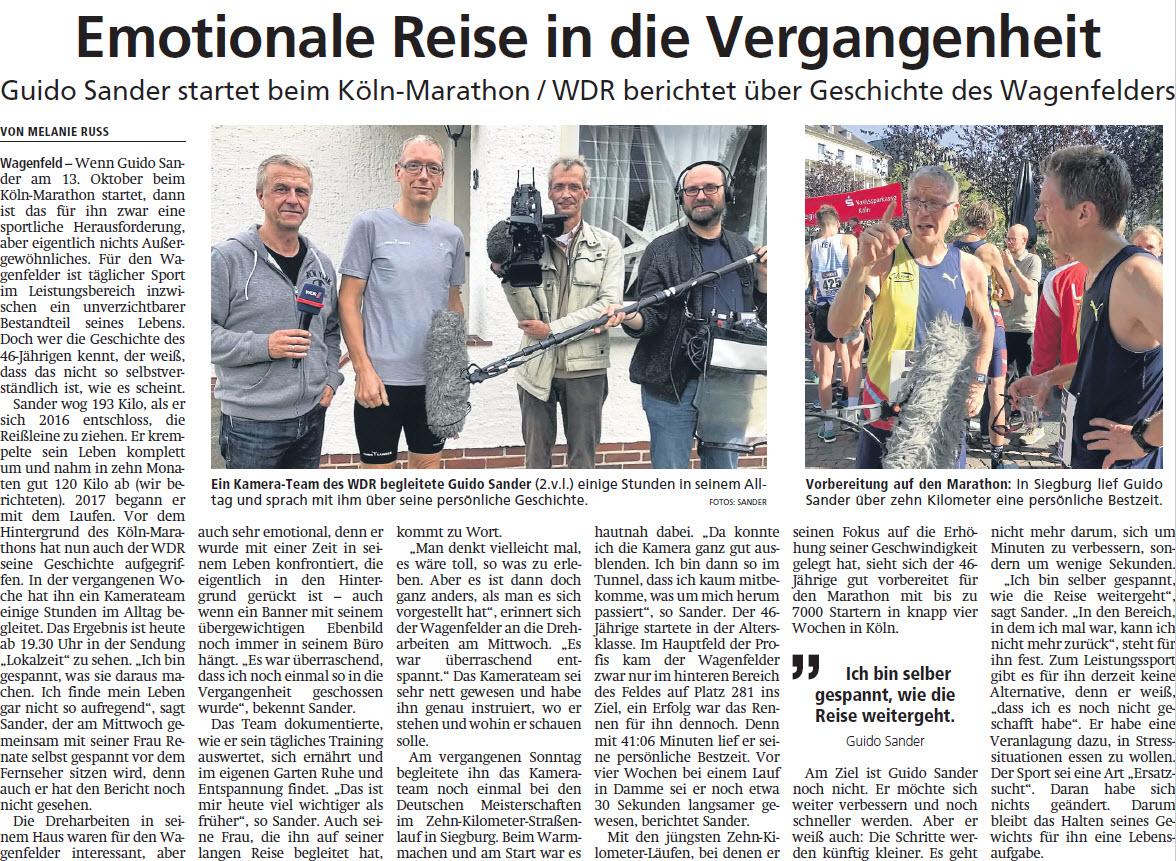 Kreiszeitung vom 18.09.2019